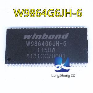 1PCS-W9864G6JH-6-1-MX-4-bancos-bits-x16-SDRAM-TSSOP-54-Nuevo