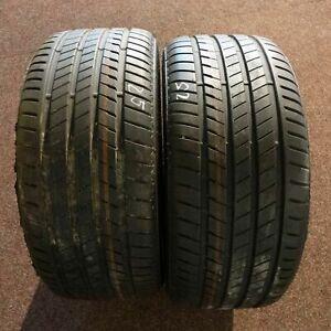 2x-Bridgestone-ALENZA-001-275-40-r20-106-W-Dot-4818-Runflat-Pneus-D-039-ete-Neuf