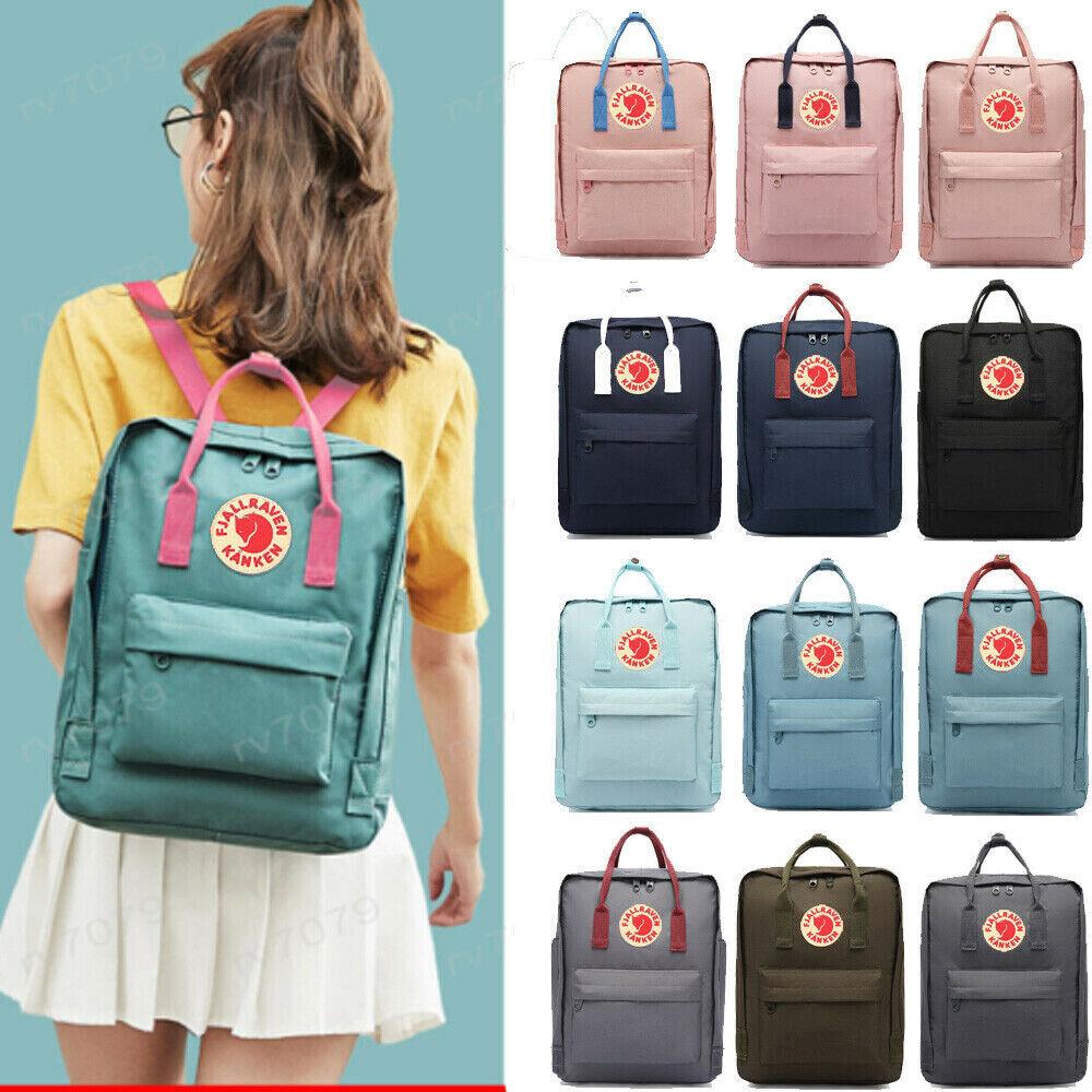 Waterproof Backpack Handbag Women Men Travel Shoulder Bag laptop computer 20/16... - s l1600