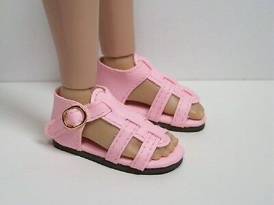 """Debs DK GREEN Strappy Sandal Doll Shoes For 14/"""" Kish Chrysalis Lark Song Piper"""