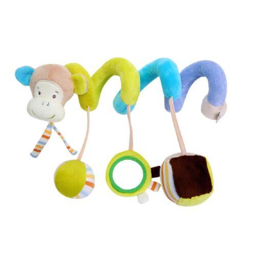 Tiere Kinderbett Hängen Rasseln Spirale Kinderwagen Autositz Spirale Plüschtier