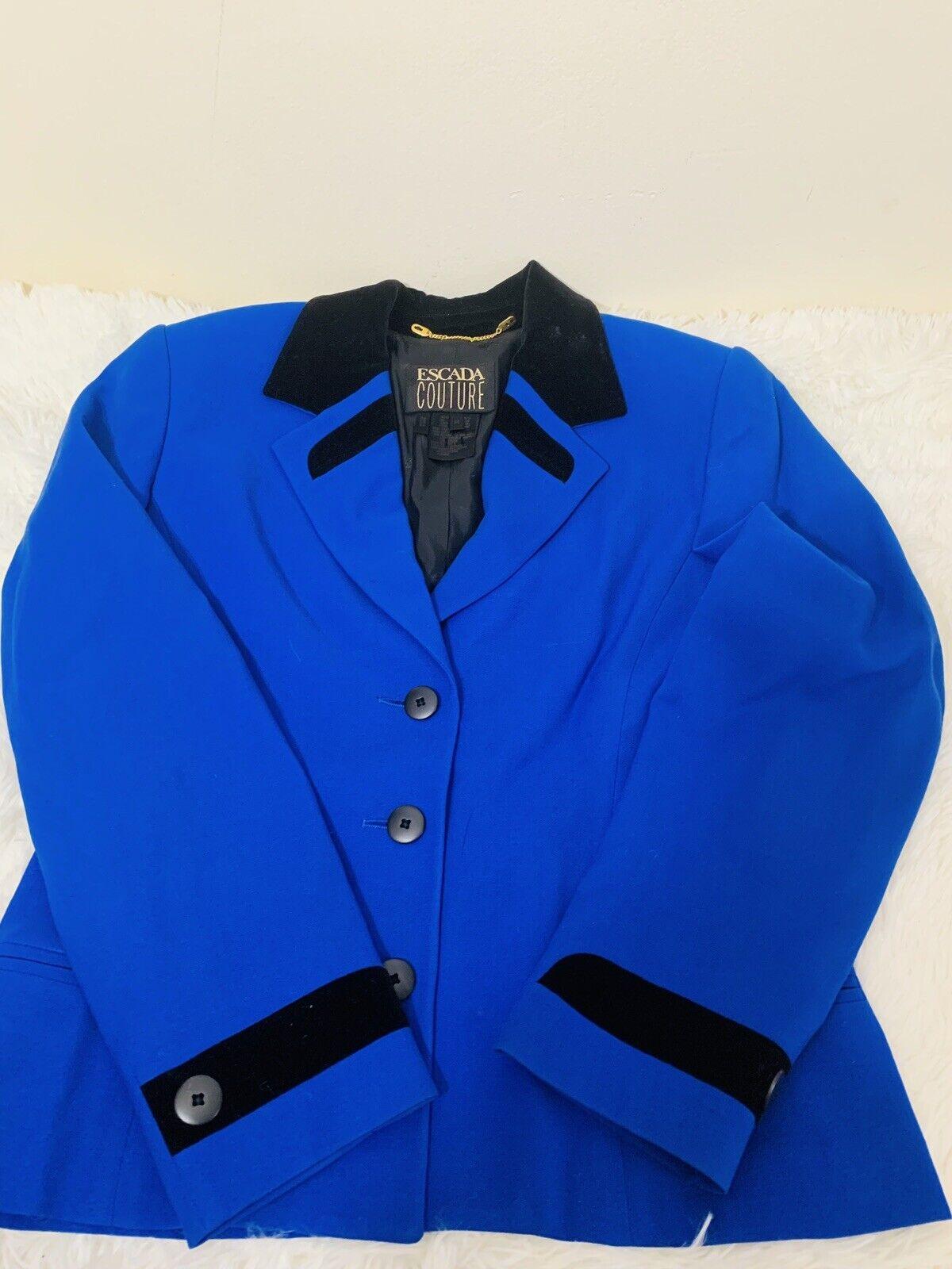 Escada Couture Royal bluee Blazer