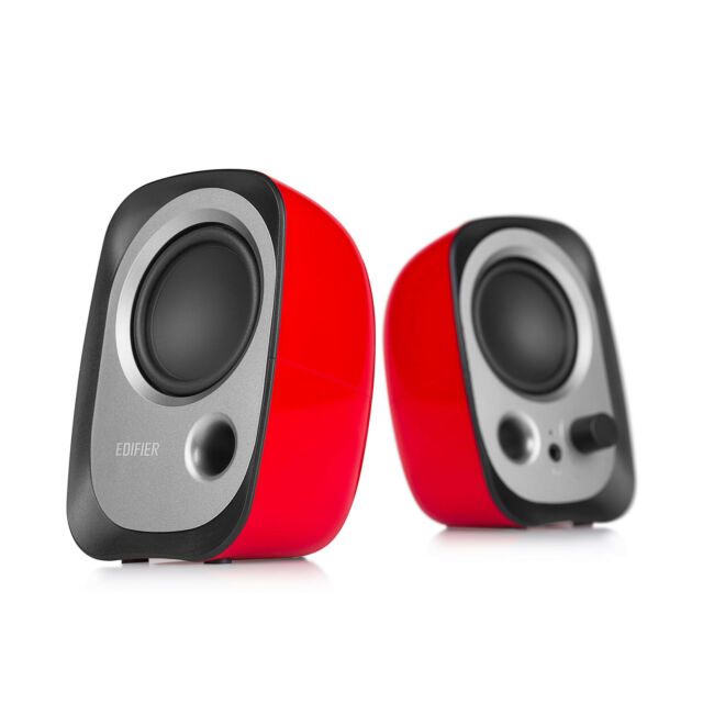 Edifier R12u Usb Stereo Computer Bookshelf Speakers Red