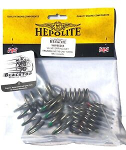 Hepolite Valve Spring Set Triumph 650/750 Unit 1963 on UK Made EXPRESS POST