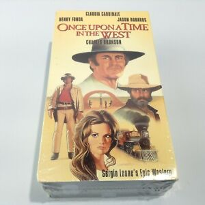 Once Upon A Time In The West (Charles Bronson) (VHS, 1997) 2-Tape Set NEW SEALED