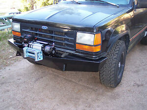 Custom Ford Explorer >> Details About Custom Winch Bumper For Ford Explorer Ranger 1st Gen