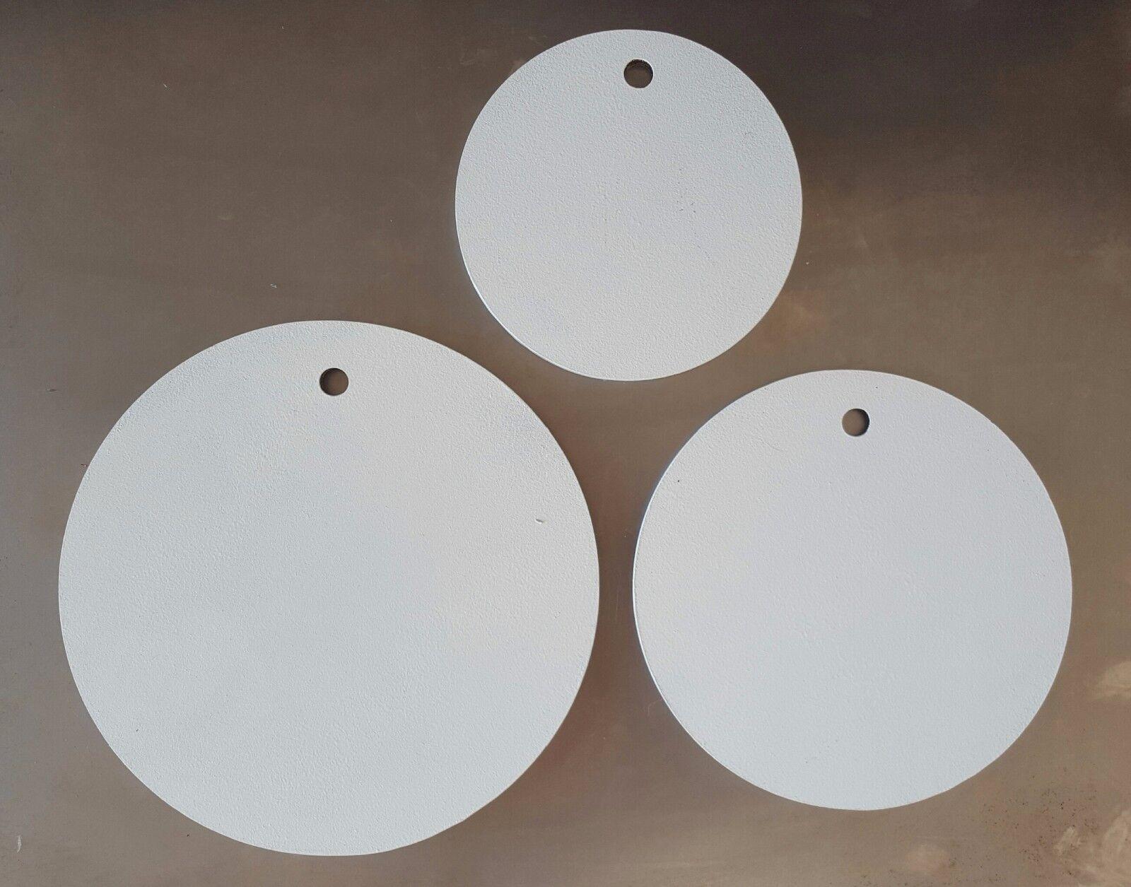 Ar500 3 8  de acero Gong Target - 12 , de 10 pulgadas y 8 pulgadas ronda los objetivos