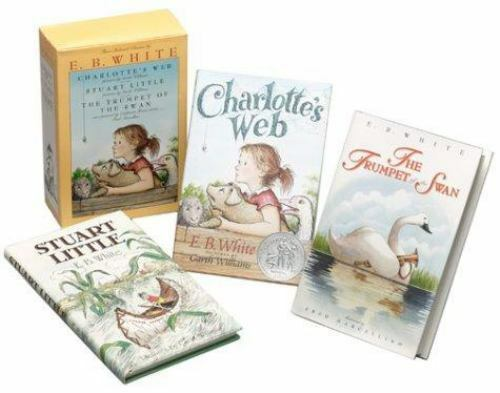 Three Beloved Classics by E.B. White: Charlotte's Web, Stuar