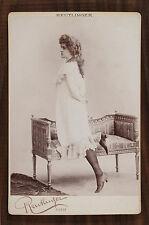 Renée de Presles Actrice Théâtre Photo Cabinet card Reutlinger Paris