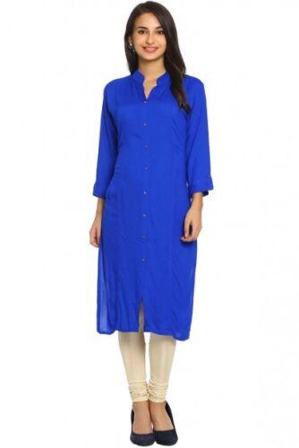 Women Casual Dress Stylish Ethnic Indian Bollywood Designer Rayon Tunic