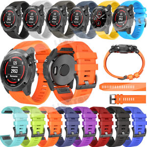For-Garmin-Fenix-5-5X-Plus-S60-3-HR-Silicone-Quick-Release-Easy-Fit-Wirst-Band