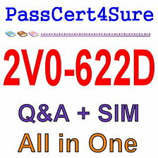 VMware VCP6.5-DCV – Data Center Virtualization Delta 2V0-622D Exam Q&A+SIM