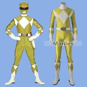 Japan-Power-Rangers-Zyuranger-Boy-Cosplay-Tiger-Ranger-Costume-Yellow-Jumpsuit