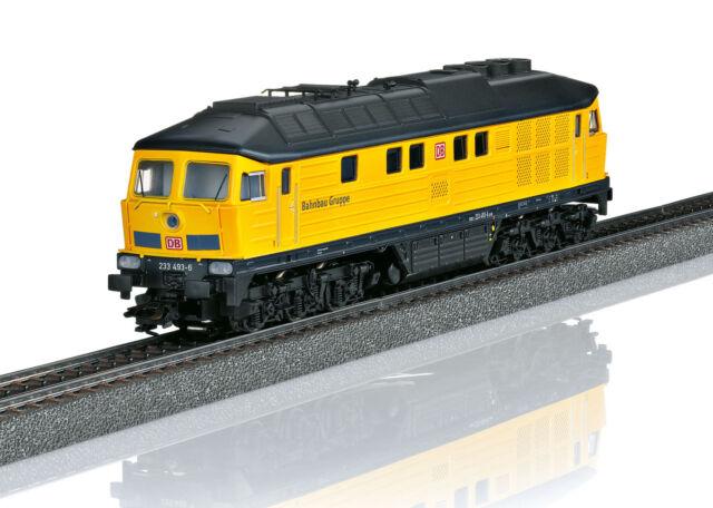 Märklin H0 36431 + 49968 Diesellok BR 233 Tiger + Bautrupp-Wagenset - NEU + OVP