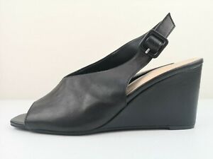 MARKS AND SPENCER M\u0026S Black Leather