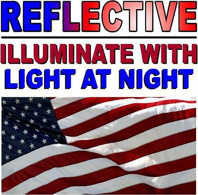 Sticker Military-Marines-ARMY PACK OF 3 REFLECTIVE RIVOTED WAVE American Flag