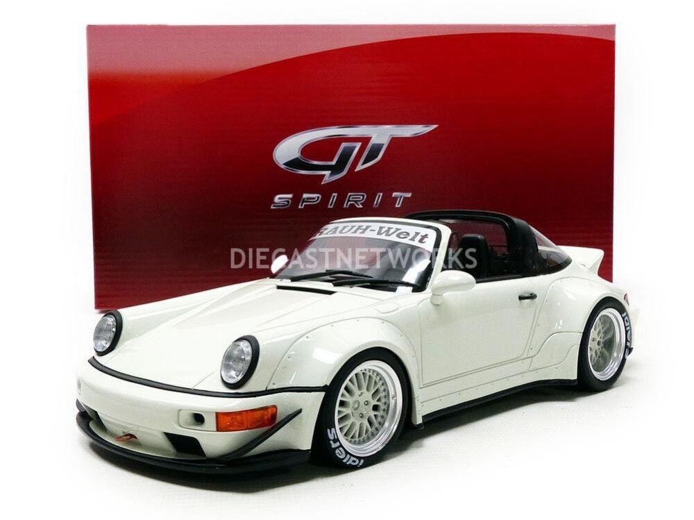 hermoso GT Spirit Porsche RWB 964 TARGA TARGA TARGA blancoo Edición Limitada de 999 1 18 escala nuevo  en Stock   alta calidad