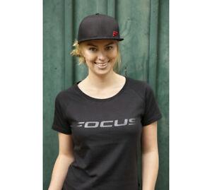 New FOCUS BICYCLE Women/'s Classic Tee Black