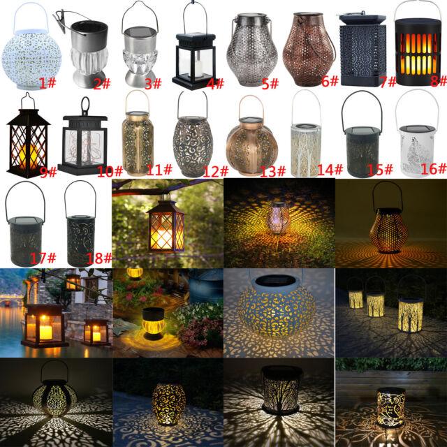 3 LED Solar Lampe Garten Laterne Leuchte Solarleuchte Beleuchtung Solarlampe DE