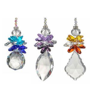 Rainbow-Suncatcher-Clear-Crystal-Ball-Angle-Prisms-Hanging-Pendants-Window-Decor