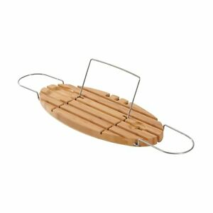 Adjustable-Bamboo-and-Stainless-Steel-Bathtub-Caddy-Bath-Shelf-Expandable-Tray