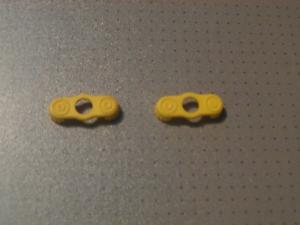 Lego - 2 Jaune version épaulette extérieure (2526)  </span>