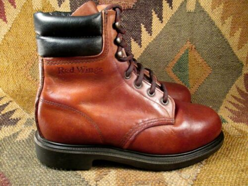 VINTAGE ''RED WING'' STEEL TOE CHUKKA SIZE 6.5 EE