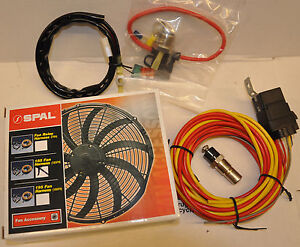 spal wiring harness spal 185 degree fan wiring harness temperature sensor | ebay spal wiring diagram switches #4