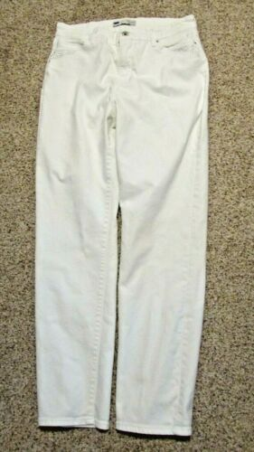 """Women's Size 14M White Perfectly Slimming Sequin """""""