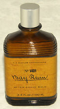 C.O. Bigelow Apothecaries - No 1401 - BAY RUM After Shave Balm - 3.4 fl oz *NEW