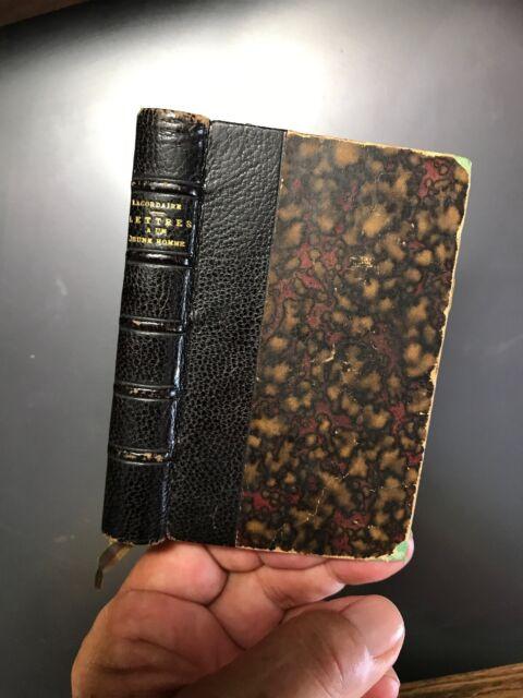 LACORDAIRE, LETTRES A UN JEUNE HOMME SUR LA VIE CHRETIENNE, 1878 Poussielgue