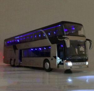Stadt-Reisebus-Spielzeug-Modell-Fahrzeug-Ride-A-Kutsche-Massstab-Kinder-NEU