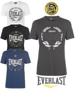 Enthousiaste Tee Shirt Everlast Homme Sport New York Bronx Col Rond 100% Coton Du S Au Xxxxl
