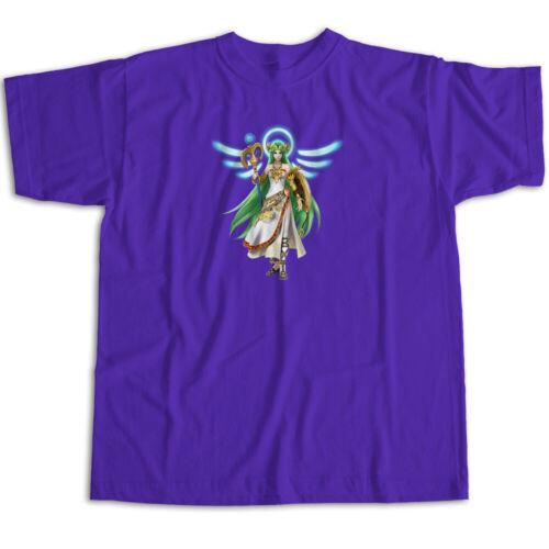 Super Smash Bros Ultimate Palutena Kid Icarus Goddess Angel Unisex Tee T-Shirt