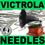 NEW 100 SOFT Toned VICTOR VICTROLA NEEDLES for Vintage Shellac Gramophones