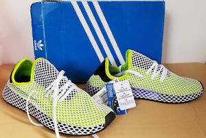 821cd2abf La foto se está cargando Adidas-Originales-B27779-deerupt-Runner-Semi-Solar -Limo-