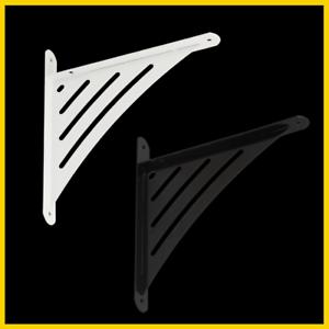10x WAT 190 Weiß Einfache Regalhalter Regalträger Regalwinkel Regalhalterung