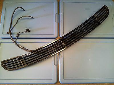 2000-01-2002-2006 MERCEDES-BENZ W220 S430 S500 HOOD VENT GRILL BLACK 2208800205