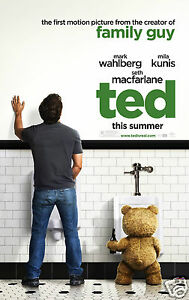 TED-film-poster-Quality-Photo-print-A4-or-A5