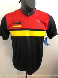 half off c3dda 4bd2c MENS Large Soccer Football Futbol Jersey Germany FIFA World ...
