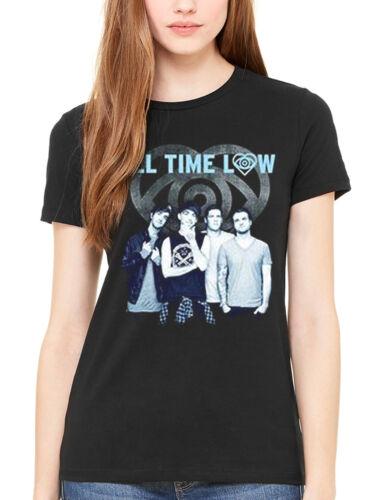 Official All temps faible incolore bleu t-shirt femme un amour comme la guerre band merch