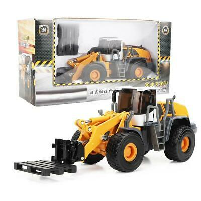 Forklift Truck Construction Vehicle Car Model Toy 1:50 Scale Metal Diecast Gift