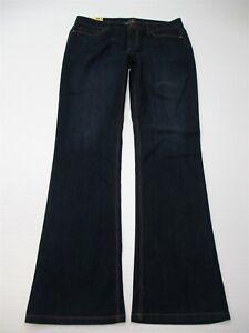 J-JILL-Jeans-Women-039-s-Size-10-Stretch-Cotton-Dark-Wash-Slim-Bootcut