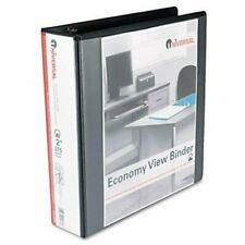 Universal Office Products 20981 Round Ring Economy Vinyl View Binder 2