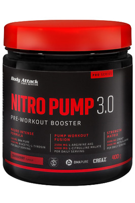 BODY ATTACK NITRO PUMP 3.0 400gr PRE WORKOUT | eBay