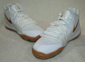 Nike Kyrie 5 (PS) White/Metallic Gold