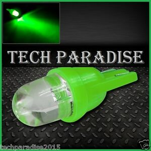 2x-Ampoule-T10-W5W-W3W-LED-Bulb-Vert-Green-veilleuse-lampe-light-12V-Auto