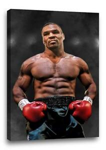 MIKE-TYSON-CANVAS-Boxing-Gym-Gloves-Photo-Poster-Pic-Print-034-30x-034-20-canvas
