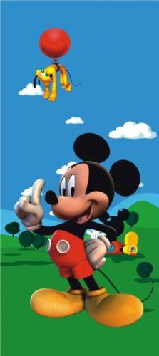 Door wallpaper Wall mural wallpaper Disney Micky mouse /& Pluto photo 90 cm x 202