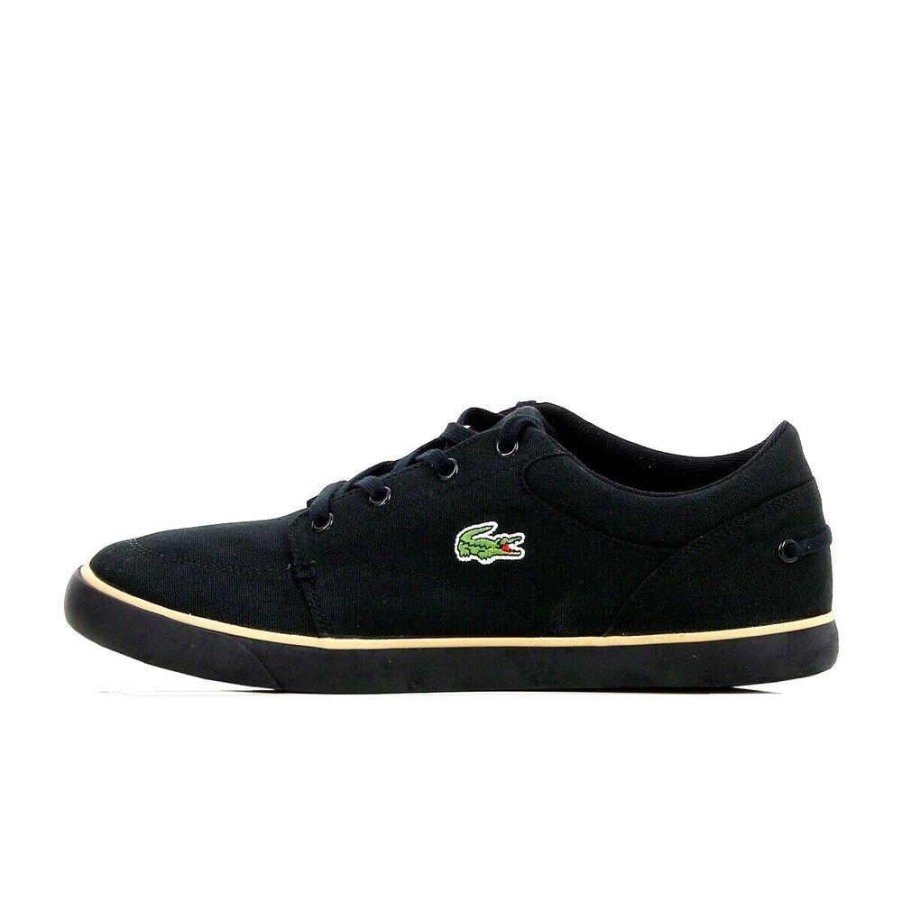 Constructif Lacoste Hommes Sneaker Type Bayliss 116 2 B Black Taille 46 Neuf Dans Sa Boîte Neuf Grande Vente De Liquidation